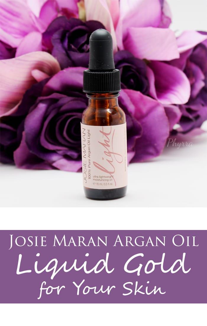 Josie Maran 100% Pure Argan Oil Light Review