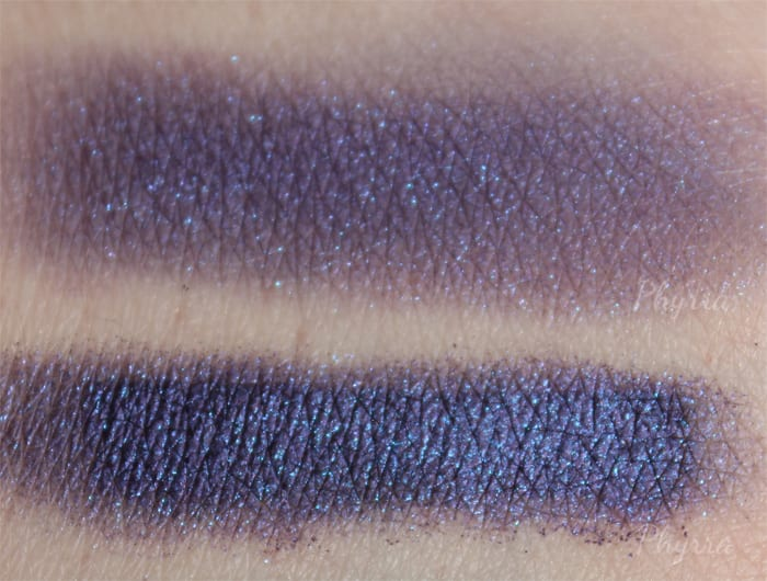 Kat Von D Metal Crush Eyeshadow in Danzig Swatch