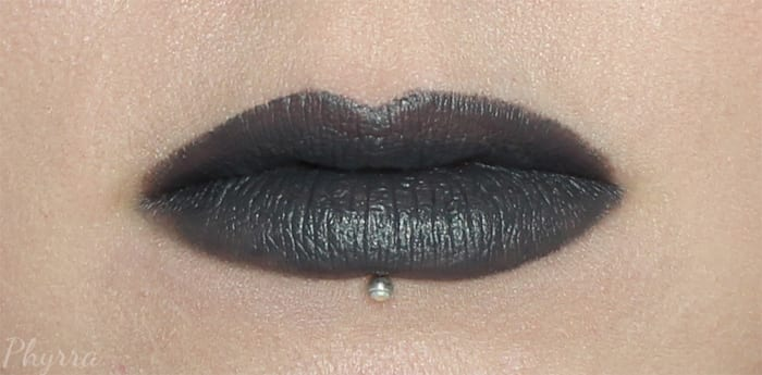 The Lip Bar Dark and Stormy Lipstick