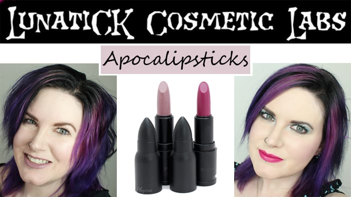 Lunatick Cosmetic Labs Apocalipsticks Review