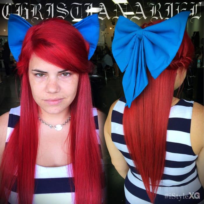 Mermaid Red Hair by Christian at iStyleXG