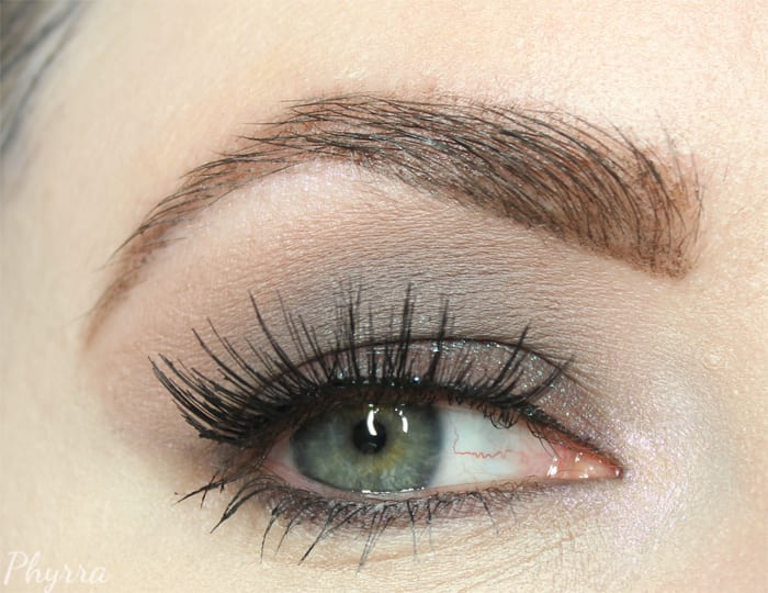 Wearing Urban Decay Naked Smoky Palette and Colour Pop Metamorphosis Palette
