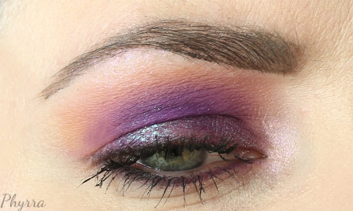 Wearing Colour Pop Kindness on top of Sugarpill Poison Plum