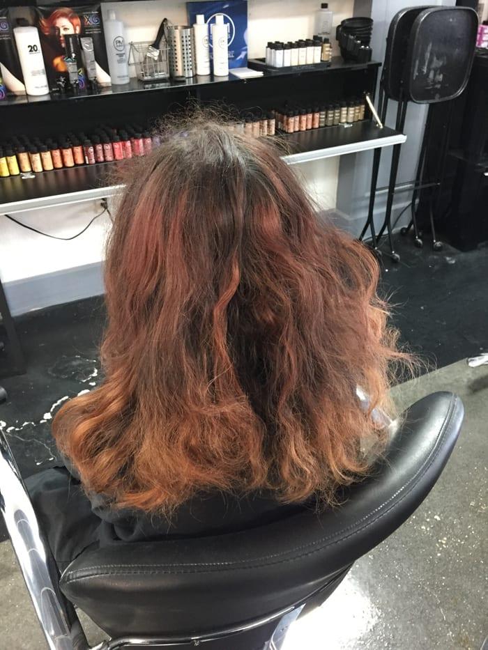 Before Strobe Hair