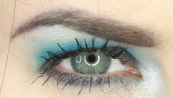Teal Eyeshadow Tutorial for Hooded Eyes