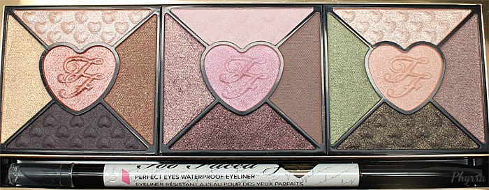 Too Faced Love Palette Review and Swatches - Phyrra.net