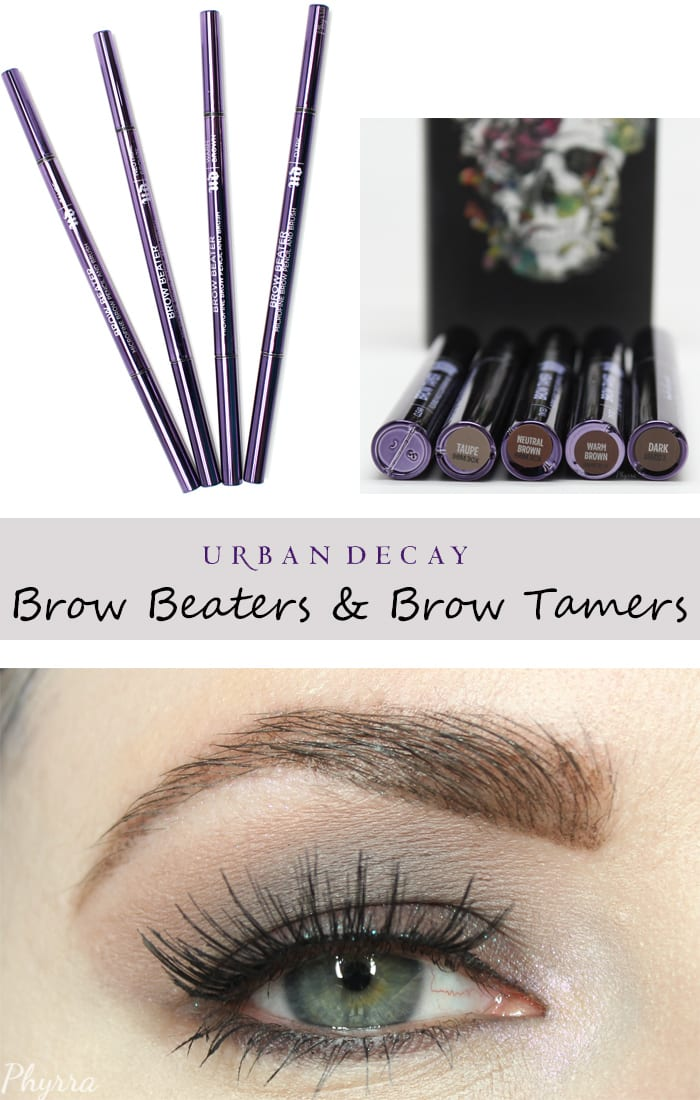 Urban Decay Brow Beaters and Brow Tamers