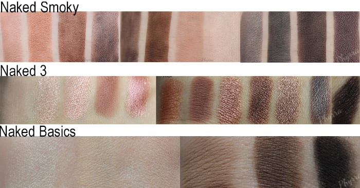 My Favorite Urban Decay Naked Palettes