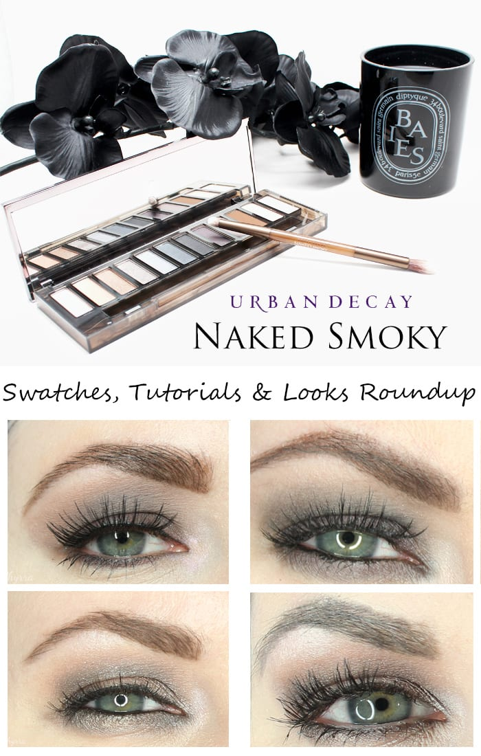 Urban Decay Naked Smoky Palette Review, Swatches, Looks & Tutorials Roundup - Phyrra.net