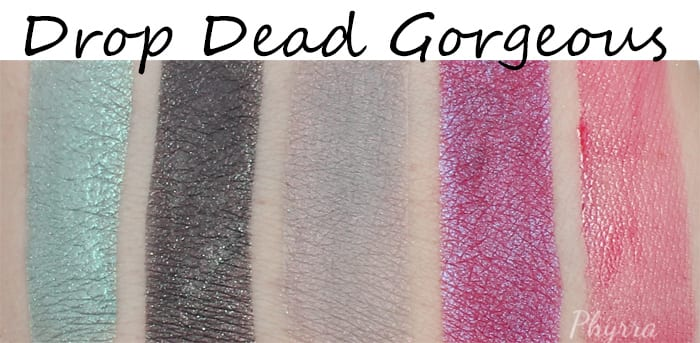 Notoriously Morbid Vanishing Cabinet Drop Dead Gorgeous Review and Swatches - Phyrra.net