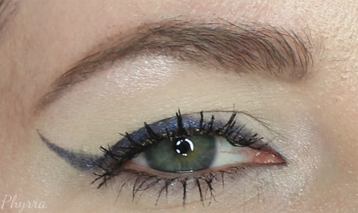 Wearing Star Cobalt as Liner