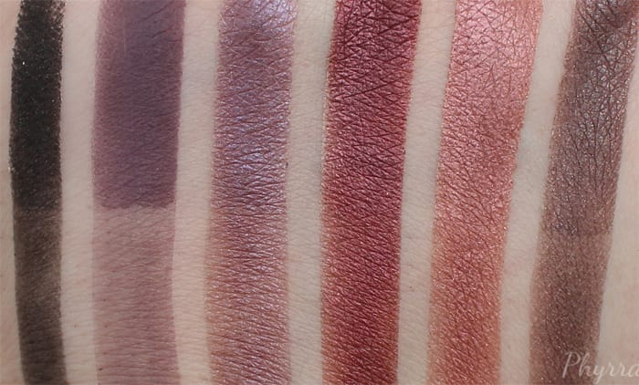 Anastasia Beverly Hills Swatches
