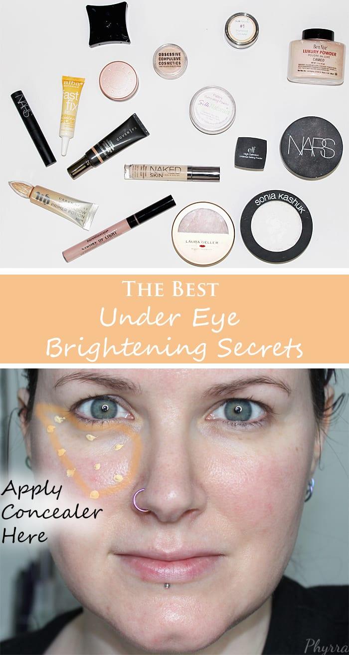 Best under eye setting powder for mature skin