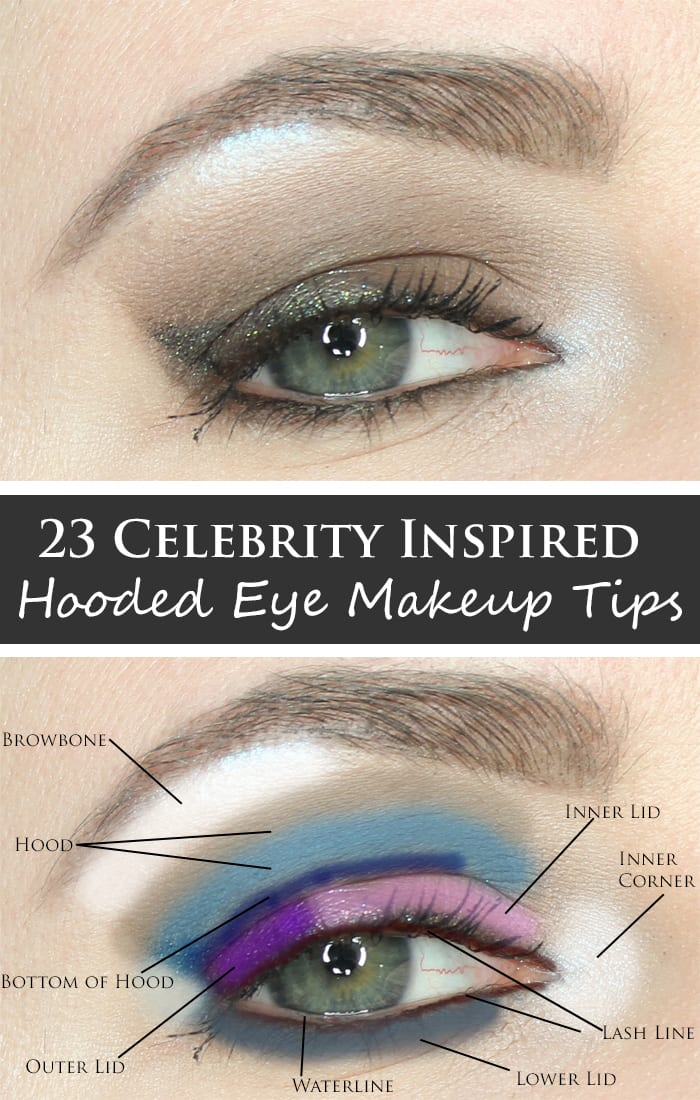 Celebrity Inspired Hooded Eye Makeup Tips