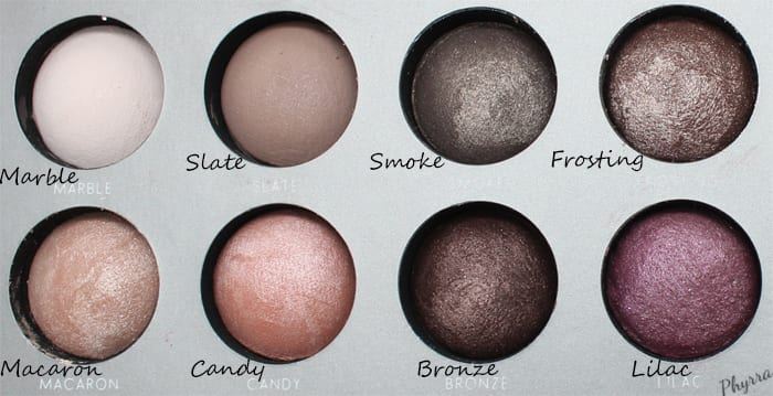 Laura Geller Delicious Shades of Cool Delectables Palette Swatches and Review