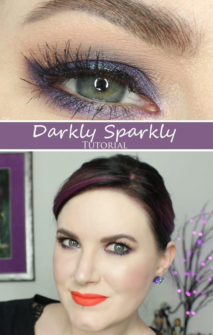 Darling Girl Darkly Sparkly Tutorial