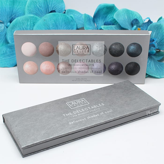 Laura Geller Delicious Shades of Cool Delectables Palette Review and Swatches