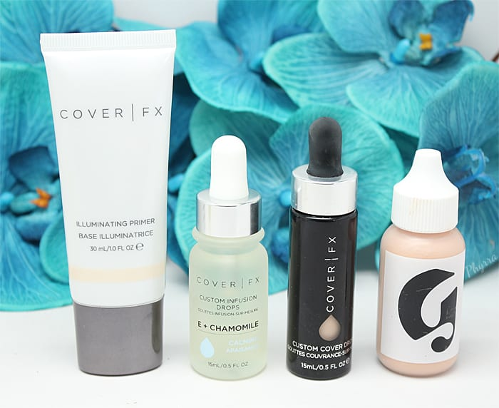 How to Mix Cover FX Custom Infusion Drops with Makeup and