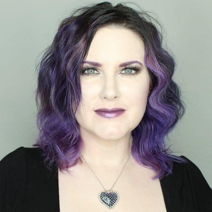 Wearing Fyrinnae Misfit Lipstick
