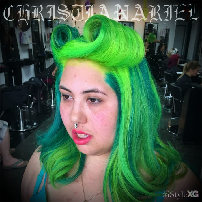 Green Victory Roll