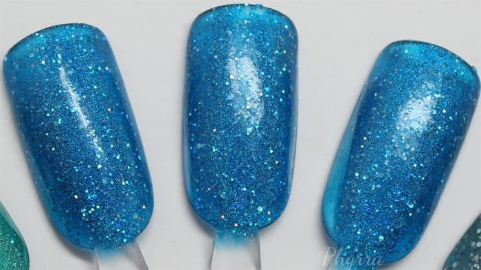 Literary Lacquers Blue Lullaby swatch