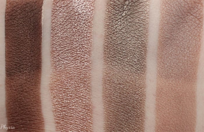 Laura Geller Delicious Shades of Cool Delectables Palette Swatches