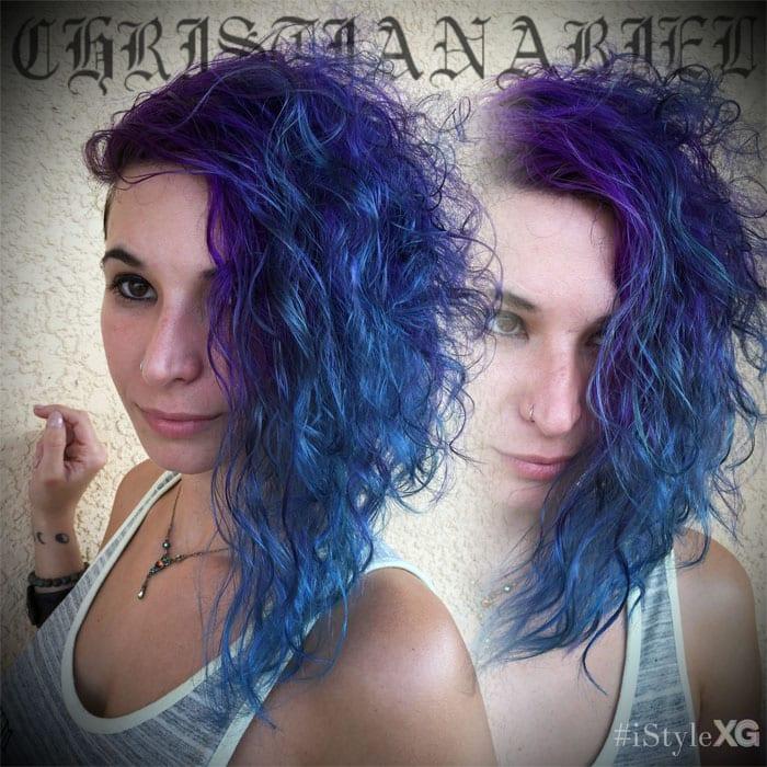 Pravana Purple to Aqua