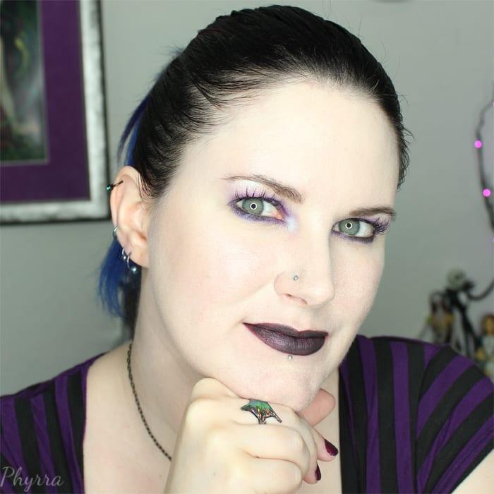 Fyrinnae Liquid Matte Sparkle-Metallic Lipstick in Phantasma