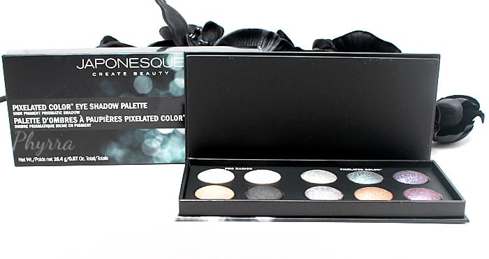Japonesque Pixelated Color Eye Shadow Palette Review Swatches Video