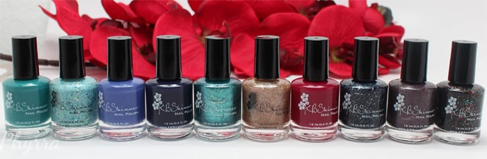 KBShimmer Fall 2015 Review and Swatches