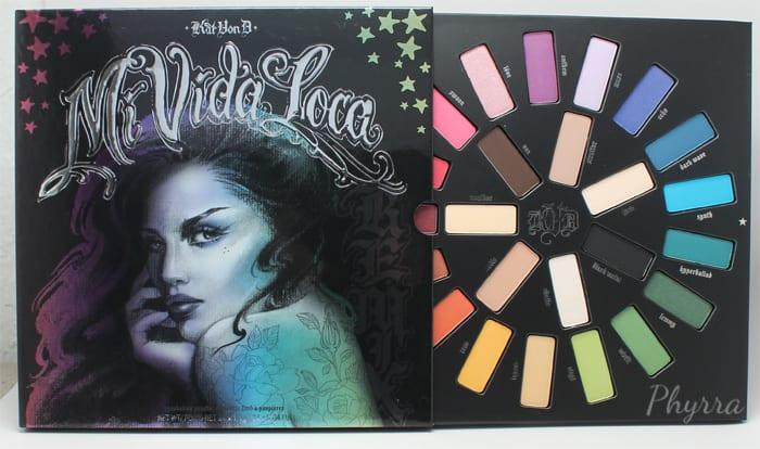Kat Von D Mi Vida Loca Remix Eyeshadow Palette Review