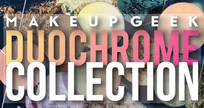 Makeup Geek Duochrome Eyeshadow Collection