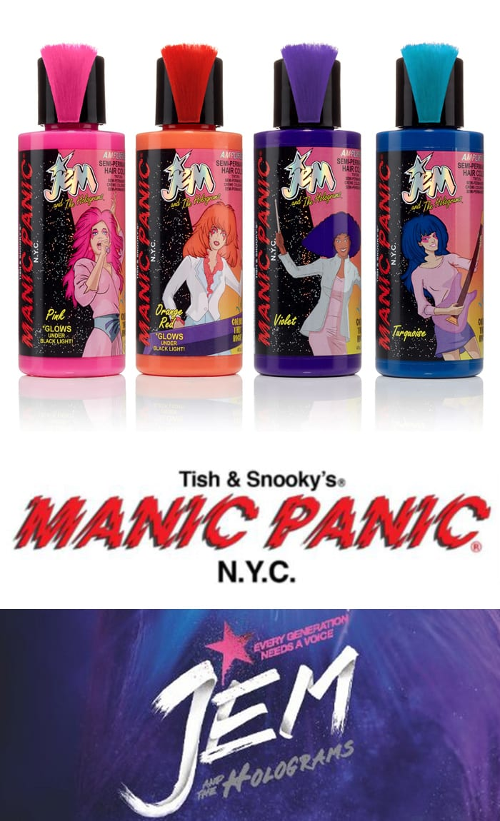 Manic Panic Jem and The Holograms Collection