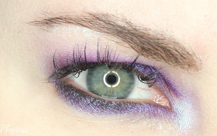 Purple Makeup Geek Eyeshadow Tutorial