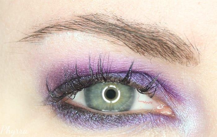 Purple Kat Von D Eyeshadow Tutorial