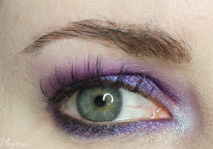 Purple Japonesque Pixelated tutorial