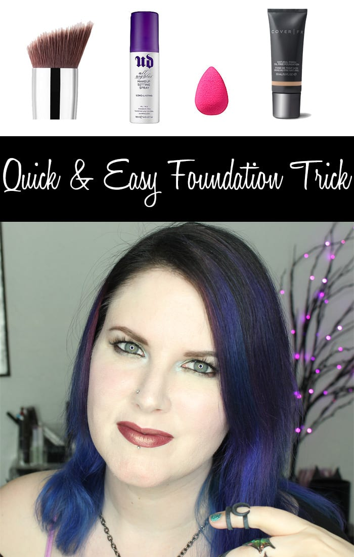 Quick and Easy Way to Apply Liquid Foundation with a Setting Spray