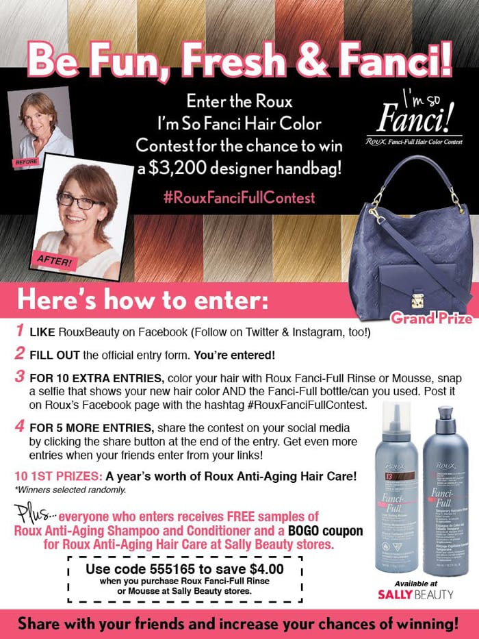 Roux Fanci-Full Temporary Hair Color Rinse