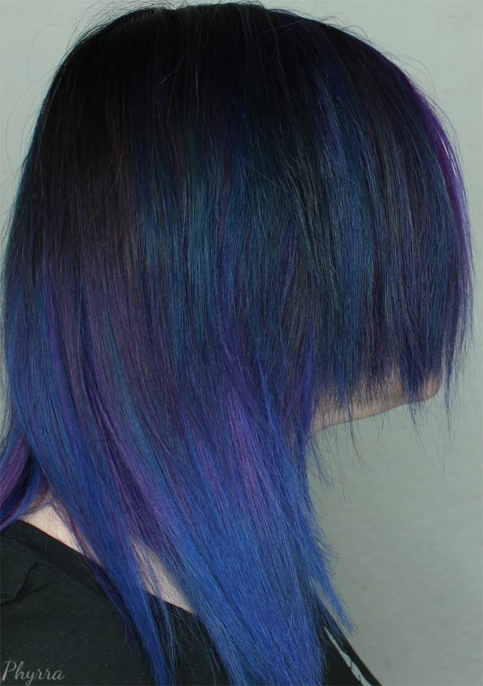 Oilslick Hair Trend