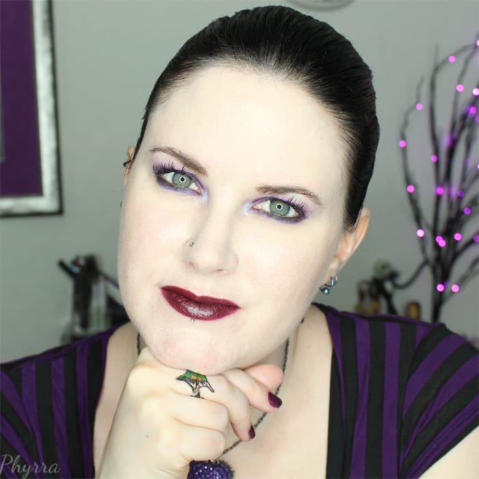 Silk Naturals Vegan Lipstick in Cherry Black