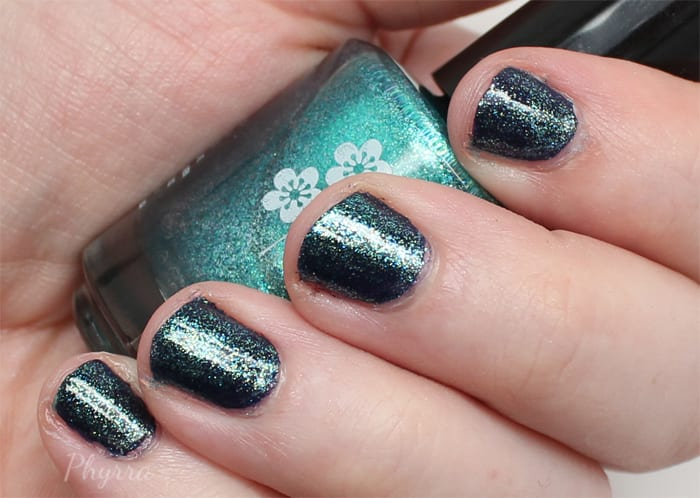 KBShimmer Talk Qwerty to Me on top of Soul Deep