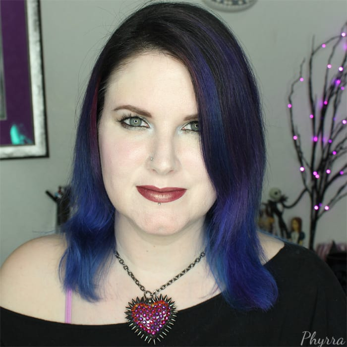 Wearing my Bunny Paige Spiked Paved Volcano Heart Necklace