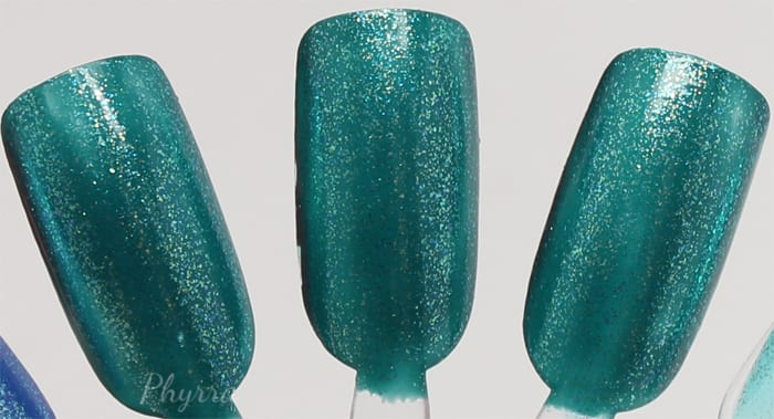 KBShimmer Talk Qwerty to Me +Teal It To My Heart