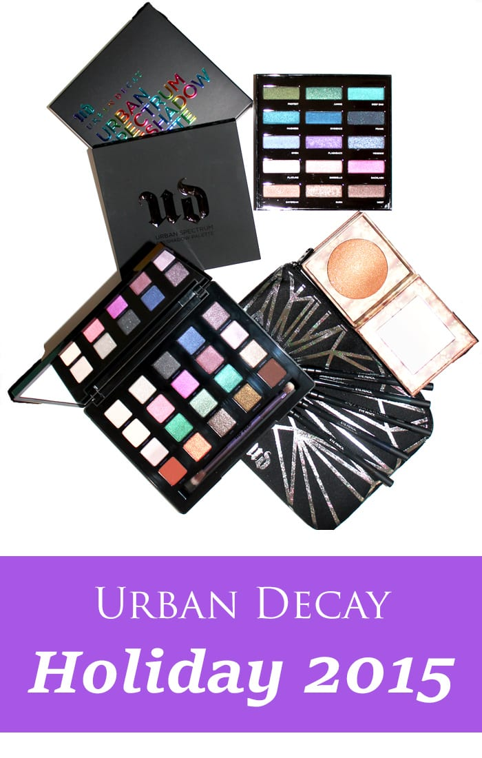 Urban Decay Holiday 2015