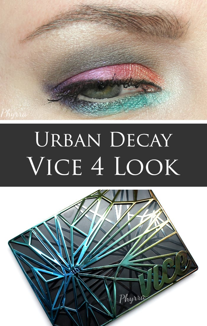 Urban Decay Vice 4 Palette Look