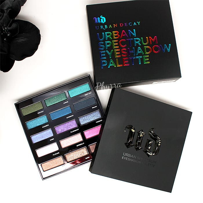 Urban Decay Spectrum Palette Review Swatches Video