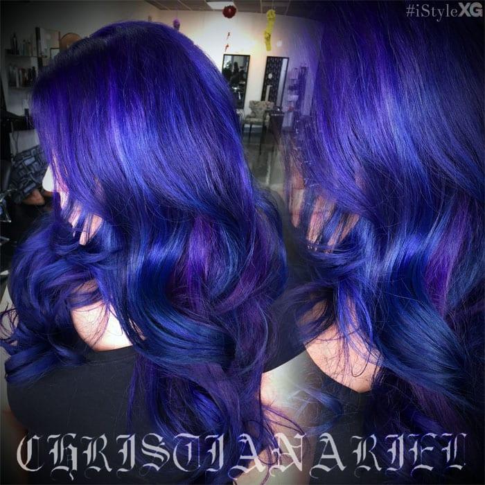 Pravana Blue Violet Hair