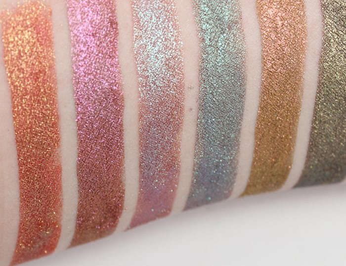 Aromaleigh Fatalis Eyeshadow Swatches