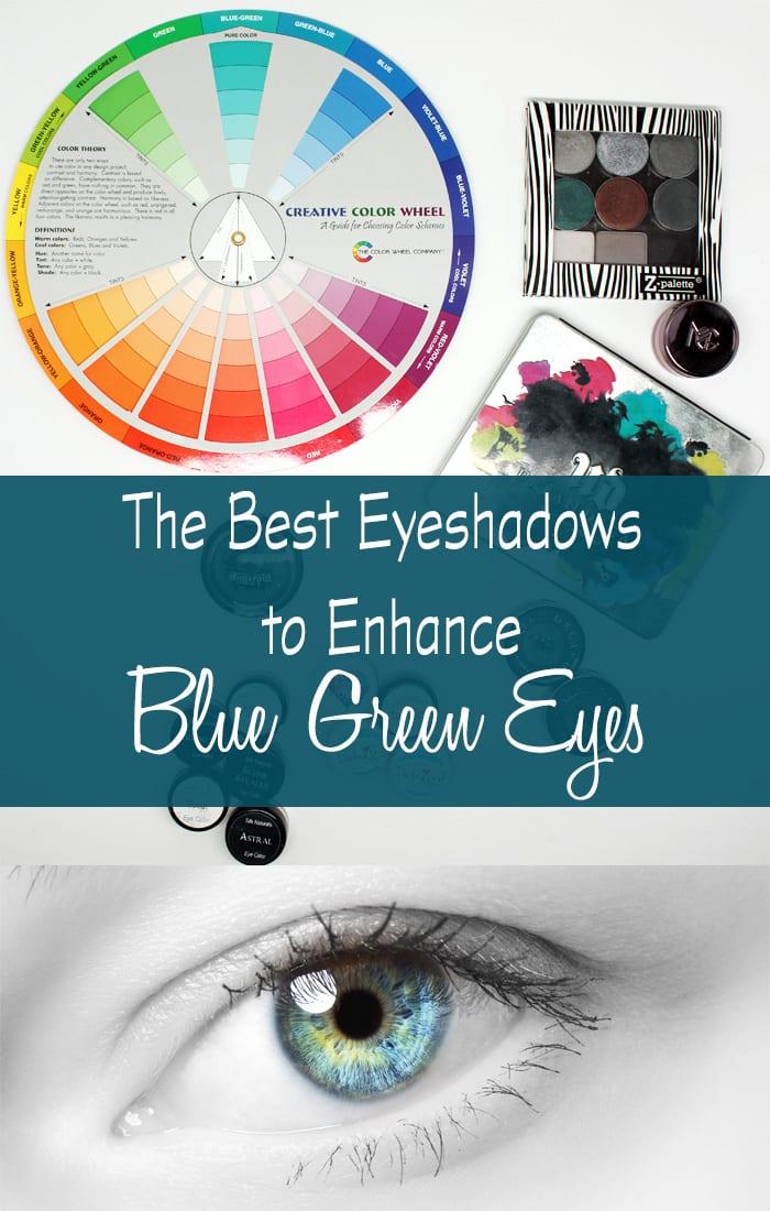 Eyeshadows to Enhance Blue Green Eyes