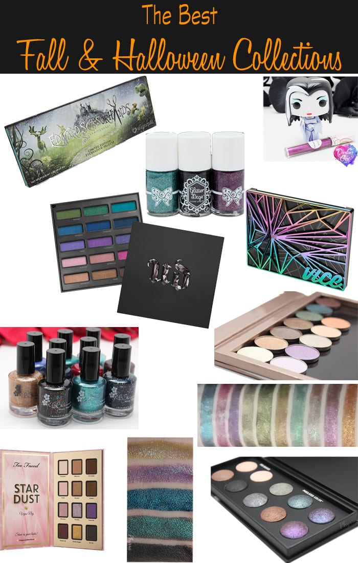 10 Best Fall and Halloween Collections. Phyrra shares her picks for the best collections. Stand out from the crowd with these unique eyeshadows and nail polishes.